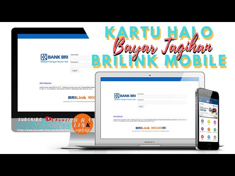 Bayar Tagihan Kartu HALO via BRILink Mobile