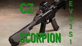 cz scorpion evo 3 s1 pistol features disassembly accessories