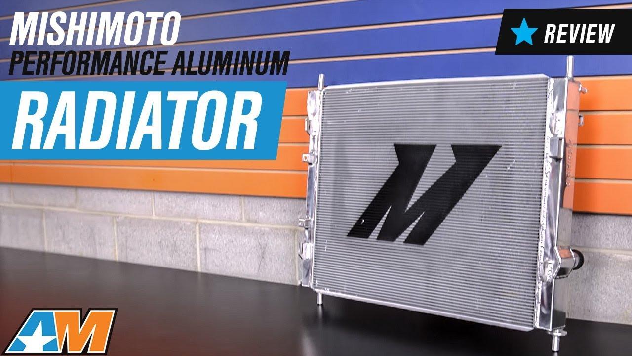 2015 2017 mustang gt mishimoto performance aluminum radiator review