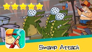 Swamp Attack EPISODE 3 Level 13 Walkthrough Defend Survive Attack! Recommend index five stars