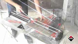 RUBI FAST-65 - ручной профессиональный плиткорез(Оборудован прочным рабочим столом из экструдированного алюминия. Купить RUBI FAST-65 в интернет-маркете Джоуль:..., 2016-04-25T08:39:18.000Z)