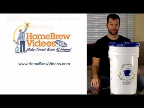 Home Brew Fermenters Guide 1 of 3 - Plastic Bucket Homebrew Fermenter For Homebrewing