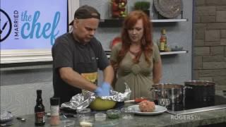 I Married the Chef - Jon's Giant Meatball and Jennifer's Ham and Pineapple Salad