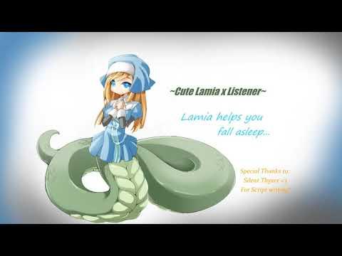 Cute Lamia x Listener~ Lamia helps you fall asleep
