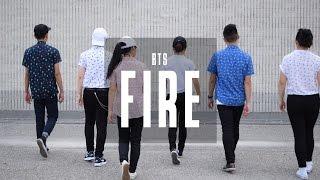 bts 방탄소년단 fire 불타오르네 dance cover r p m