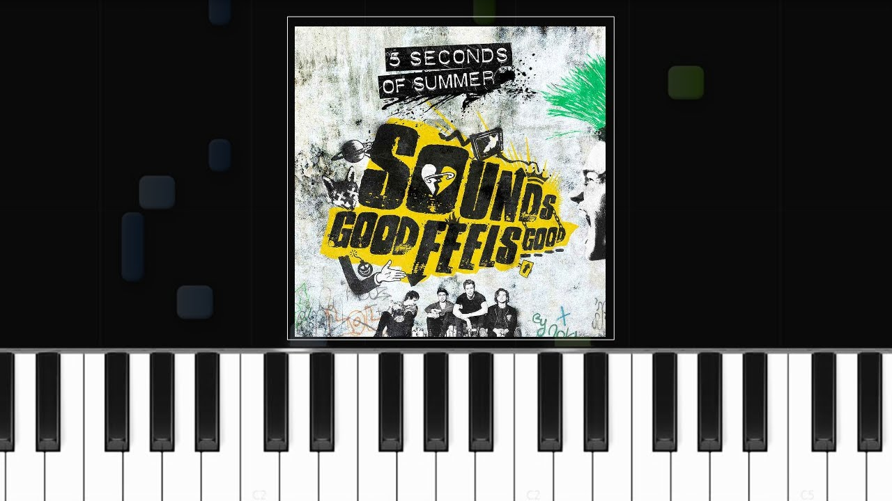 5 seconds of summer jet black heart piano tutorial chords how to play cover youtube. Black Bedroom Furniture Sets. Home Design Ideas