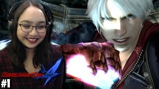 I LOVE NERO! - Let's Play: Devil May Cry 4: Special Edition PS4 Gameplay Walkthrough Part 1