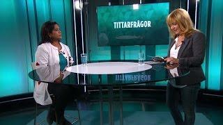 Gynekolog Rika Hammarström svarar på tittarfrågor - Malou Efter tio (TV4)