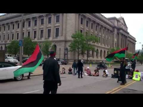 Cleveland City Hall Protest & March Ahead of Brelo Verdict