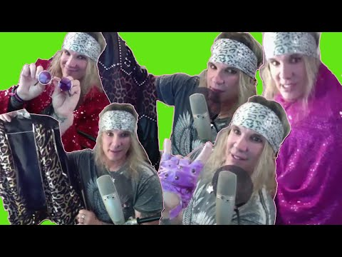 Steel Panther's Michael Starr Shows Off Crazy Hair Metal Wardrobe
