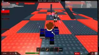 Sword fighting on roblox with a DH