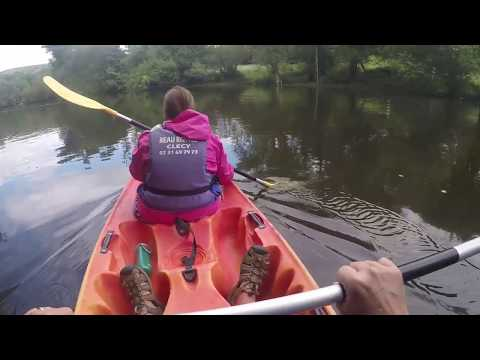 Kayaking on the Orne River