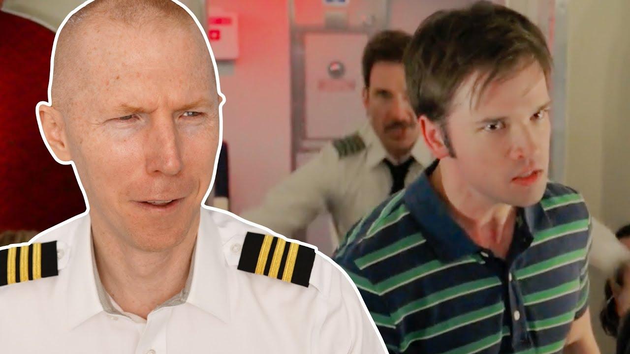 Download Pilot Attacks Angry Passenger - LA to Vegas   TV vs Reality