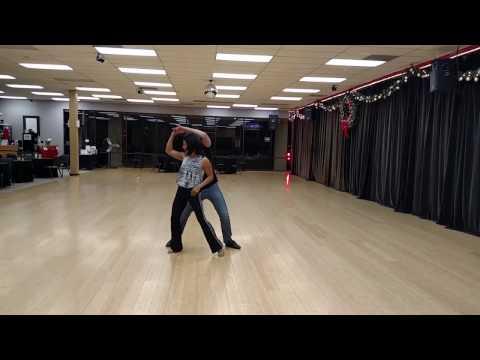 Azucena West Coast Swing practice