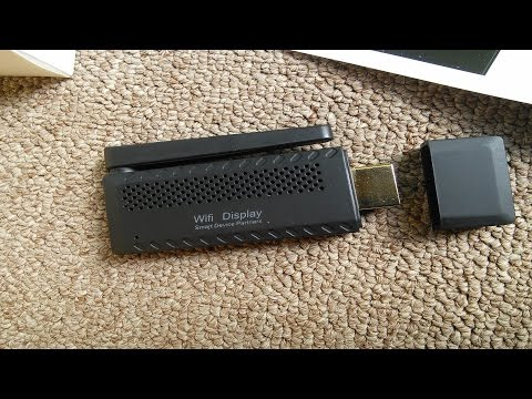 Т9 WiFI Display Dongle  Miracast DLNA распаковка & test