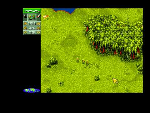 Cannon Fodder WINUAE Gameplay 1st Two Missions Amiga 1994 Sensible Software CD32 (2010-01-28)