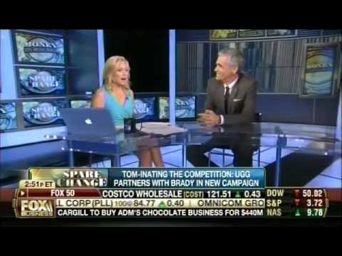 Bruce Turkel on Fox Business: Gisele in Under Armour and Tom in Uggs