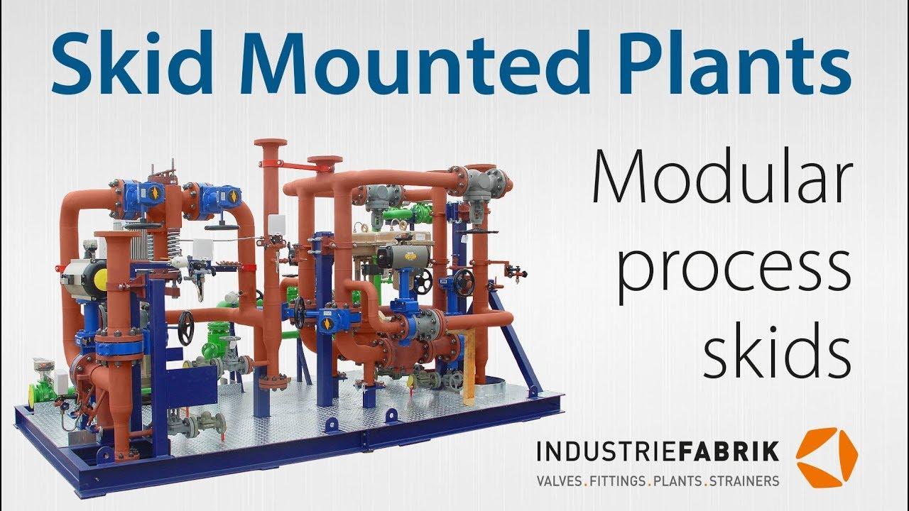 Modular process skids | Skid mounted plants | Valve skid units -  Manufacturer