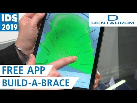 Build-A-Brace - The New Free App | DENTAURUM @ IDS 2019