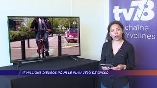 Yvelines | 17 millions d'euros pour le plan vélo de GPSetO