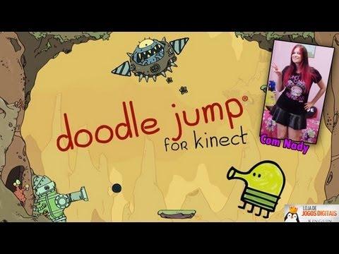 Doodle Jump for Kinect - Um jogo de kinect para sedentários