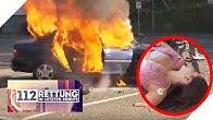 Auto brennt! Überleben der Bräutigam und seine Ex?   112 - Rettung in letzter Minute   SAT.1 TV
