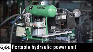 Engine driven hydraulic power unit