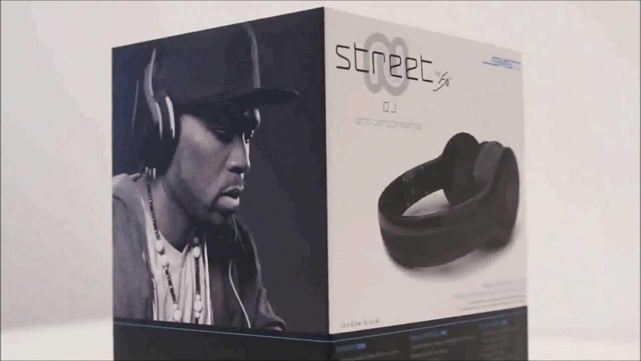 SMS Street by 50 DJ Headphones Unboxing and Overview - YouTube