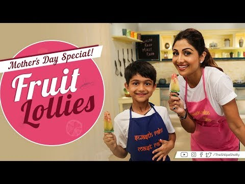 Fruit Lollies | Shilpa Shetty Kundra | Healthy Recipes | B Natural Fruit Beverages