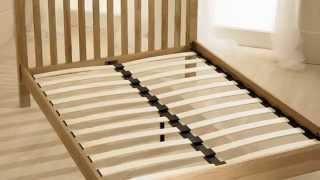 Bbs Nottingham Solid Oak Bed Frame