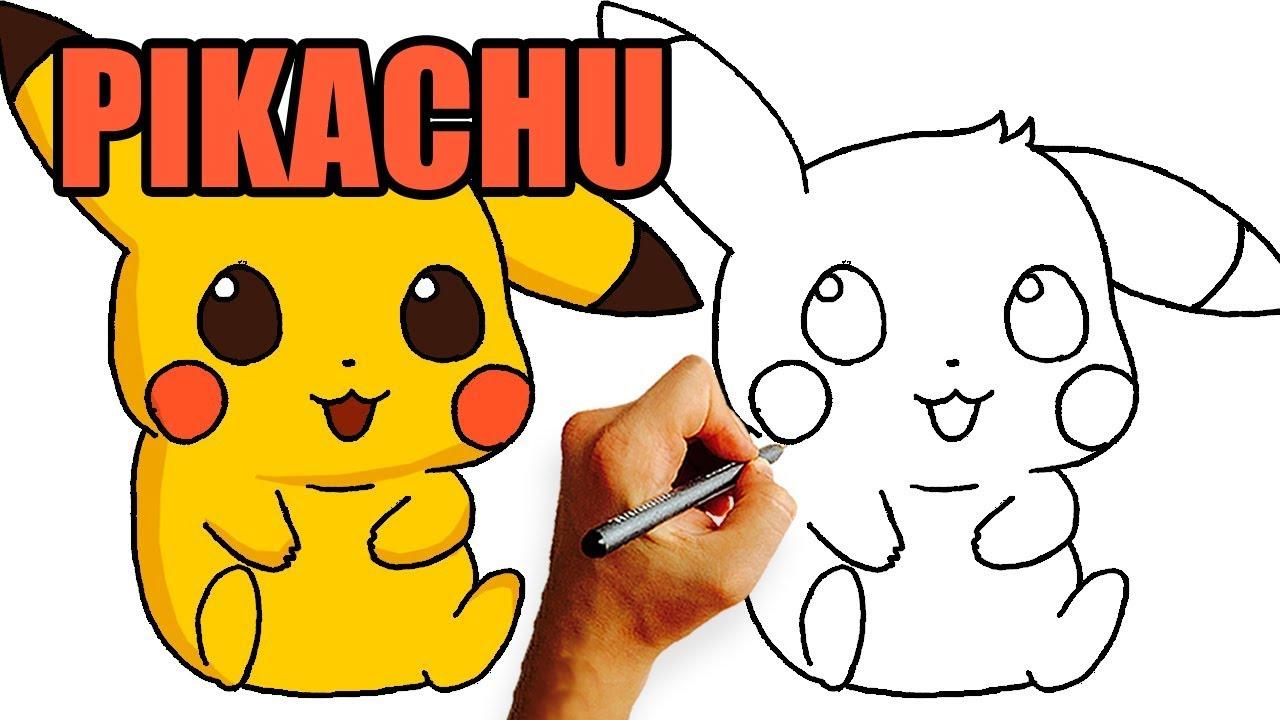 Wie zeichne Pikachu - PIKACHU Zeichnung Mit Bleistift