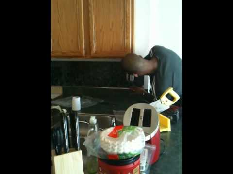 how to install a kitchen backsplash in 2 hours youtube