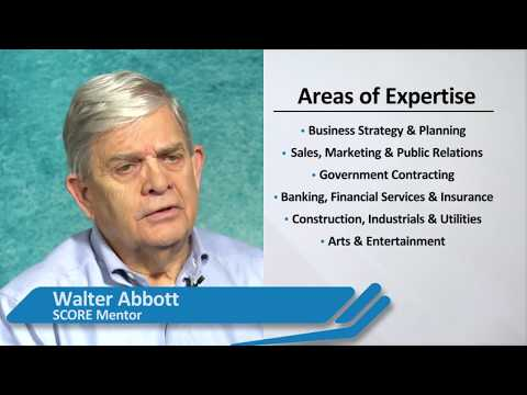 Washington DC Score Mentor Walter Abbott