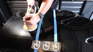 MEGUIARS D166 VS HD SPEED - WHICH ONE WILL REMOVE 3000 GRIT SANDING MARKS