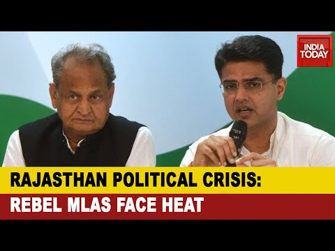 Rajasthan Political Crisis: Congress Chief Whip Issues Notice To 18 Rebel MLAs For Skipping CLP Meet from YouTube · Duration:  5 minutes 41 seconds