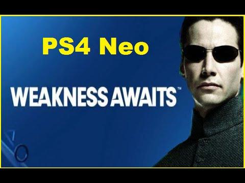 Weakness Confirmed! PS4 Neo Weaker than Xbox ONE Scorpio. Nx Secret Idea In The Works.