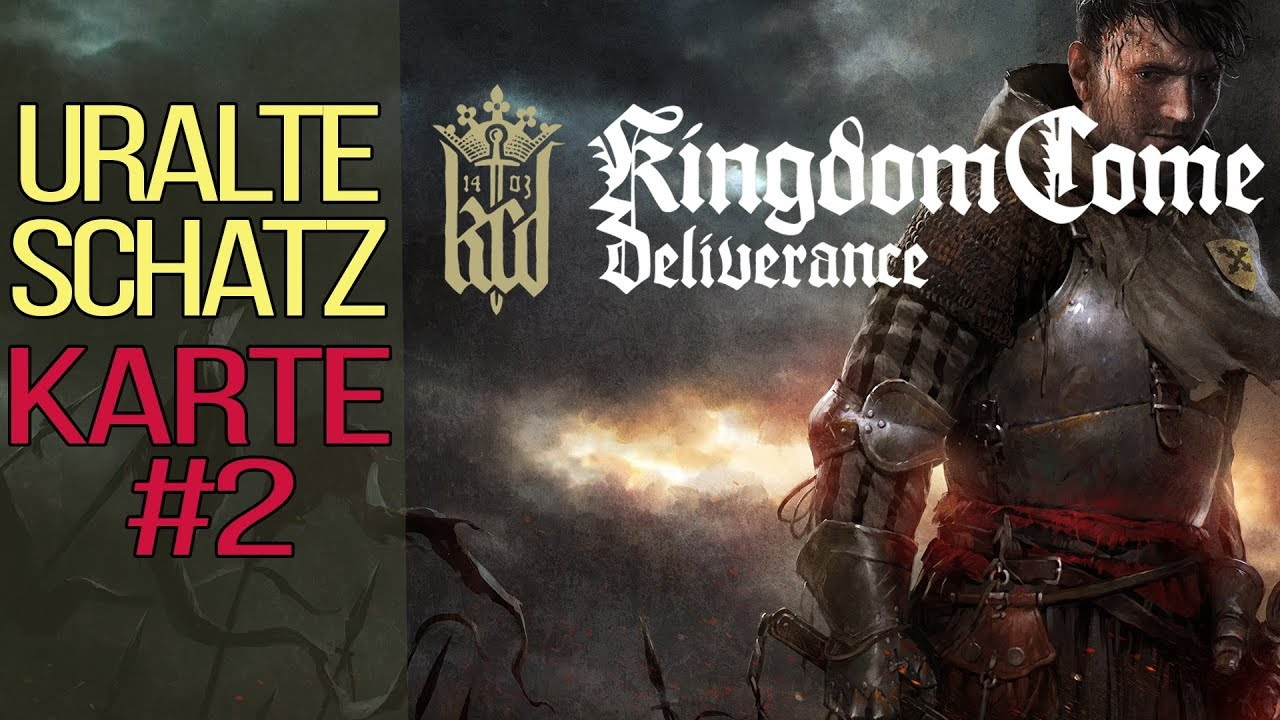 Kingdom Come Deliverance Uralte Karte 2.Kingdom Come Deliverance Guide Uralte Schatzkarte 2