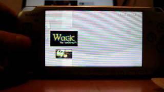 Wagic on PSP 6.35 OFW