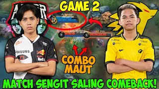 AE PAKE COMBO FULL AREA !!MATCH SUPER SERU SALING COME BACK !!! AE VS ONIC MATCH 2  MPL INDONESIA S7