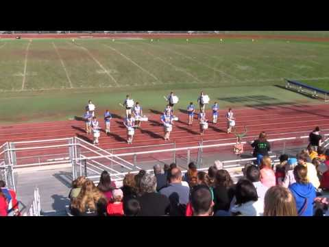 Belington Middle School's Drum Line at the 2014 Robert C. Byrd 2nd Annual Drum Line Expo