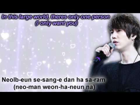 Kyuhyun & Yesung (super Junior) - 나란 사람 A Person Like Me (Your Eyes) [Eng + Rom]