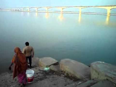 Love Bridge Matras : Love the nature view of ganga river at bhagalpur[bihar] recorded