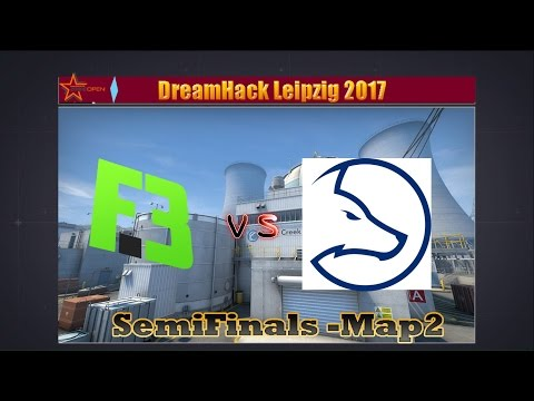 Flipsid3 Tactics vs Team LDLC [Map 2 - SemiFinals Bo3]    DreamHack Leipzig 2017
