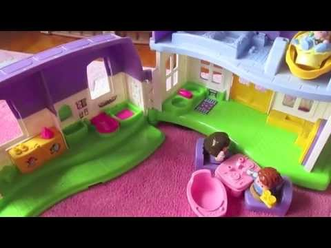 Fisher Price Happy Sounds Home Dollhouse Review!