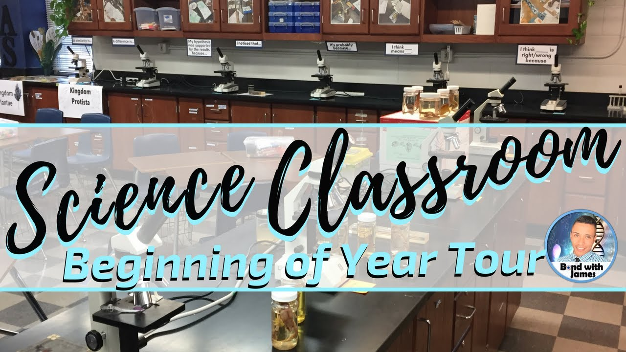 Science Classroom Decorations High School ~ High school science classroom tour youtube