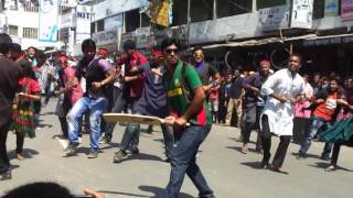 ICC World Twenty20 Bangladesh 2014   Flash Mob Pabna Textile Engineering College