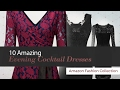 10 Amazing Evening Cocktail Dresses Amazon Fashion Collection