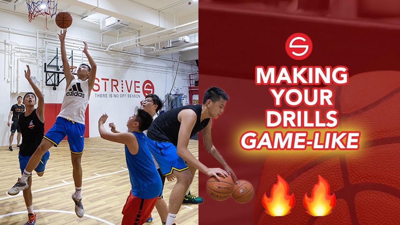 How to Make Your Basketball Drills More Game-Like