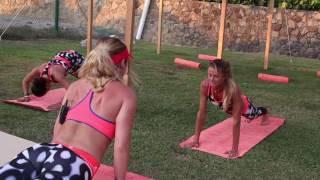 Yoga con Daniela Hantuchova AMT2017