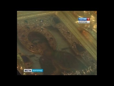 В Волгоград прибыла икона Пресвятой Богородицы Семистрельная «Умягчение злых сердец».